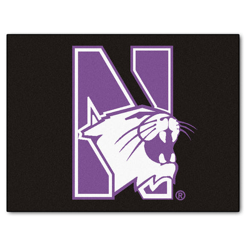 Northwestern University All-Star Mat 33.75x42.5 - FANMATS - Dropship Direct Wholesale