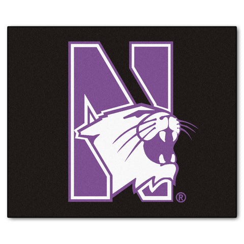 Northwestern University Tailgater Rug 5x6 - FANMATS - Dropship Direct Wholesale