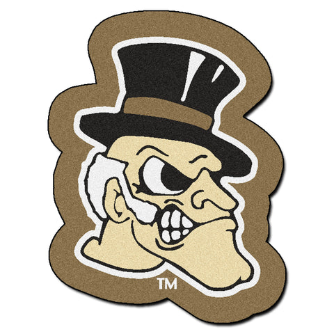 Wake Forest Mascot Mat - FANMATS - Dropship Direct Wholesale