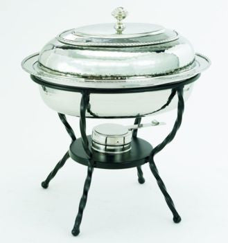 16.5 x 12.5 x 18 Oval Stainless Steel Chafing Dish 6 Qt. - Old Dutch - Dropship Direct Wholesale