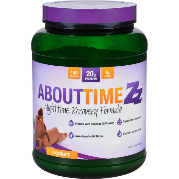 About Time Zz Nighttime Recovery - Chocolate - 2 lb - About Time - Dropship Direct Wholesale - 1