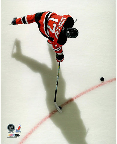 Ilya Kovalchuk New Jersey Devils Red Jersey Overhead 16x20 Photo uns Gettynbr96772661 - PF