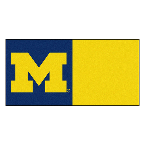 University of Michigan Carpet Tiles 18x18 tiles - FANMATS - Dropship Direct Wholesale