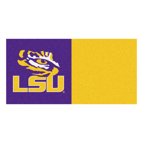 Louisiana State Carpet Tiles 18x18 tiles - FANMATS - Dropship Direct Wholesale