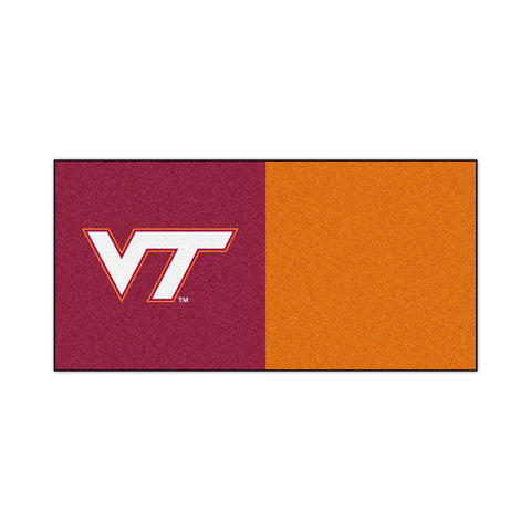 Virginia Tech Carpet Tiles 18x18 tiles - FANMATS - Dropship Direct Wholesale
