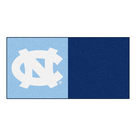 UNC - Chapel Hill Carpet Tiles 18x18 tiles - FANMATS - Dropship Direct Wholesale