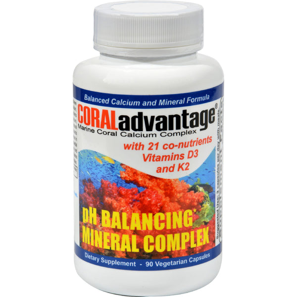 Advanced Nutritional Innovations Coral Advantage - 90 Vegetable Capsules - Advanced Nutritional Innovations - Dropship Direct Wholesale - 1