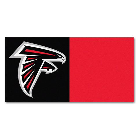 "NFL - Atlanta Falcons Carpet Tiles 18""x18"" tiles - FANMATS - Dropship Direct Wholesale"