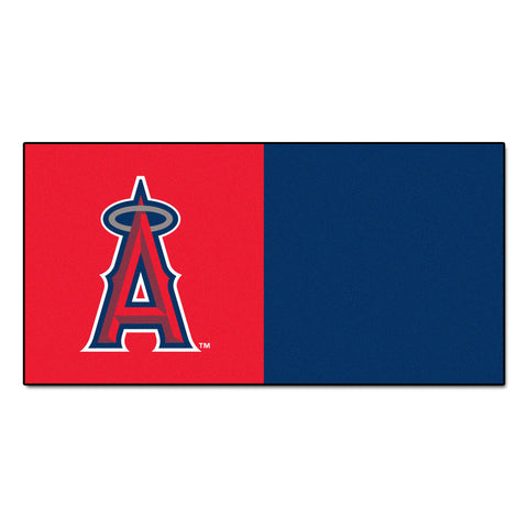 Los Angeles Angels Carpet Tiles 18x18 tiles - FANMATS - Dropship Direct Wholesale