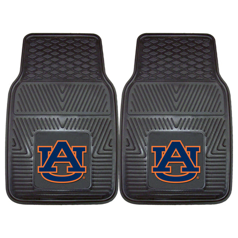 "Auburn University Heavy Duty 2-Piece Vinyl Car Mats 17""x27"" - FANMATS - Dropship Direct Wholesale"