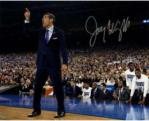 Jay Wright Signed Sideline Point 2016 National Championship Game 16x20 Photo