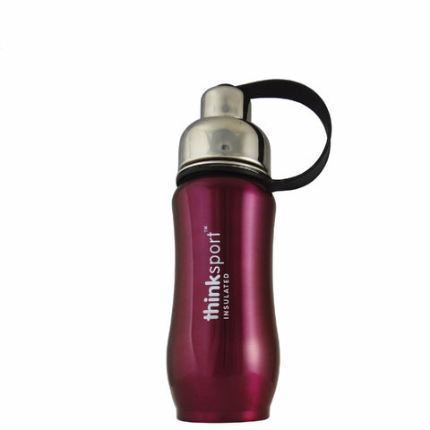 Thinksport Insulated Sport Bottle - Purple - 12 oz - Thinksport - Dropship Direct Wholesale - 1