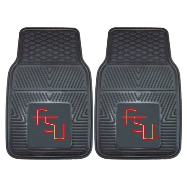 Florida State Heavy Duty 2-Piece Vinyl Car Mats 17x27 - FANMATS - Dropship Direct Wholesale