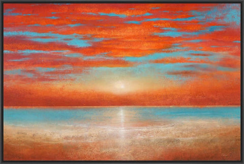 A JURNEY END 22L X 28H Floater Framed Art Giclee Wrapped Canvas - J S Bass Gallery - Dropship Direct Wholesale - 1