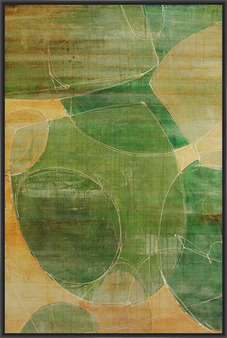 ADDIEL I 22L X 28H Floater Framed Art Giclee Wrapped Canvas - J S Bass Gallery - Dropship Direct Wholesale - 1