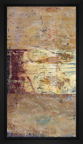 Tabulate 22L X 28H Floater Framed Art Giclee Wrapped Canvas - J S Bass Gallery - Dropship Direct Wholesale - 1