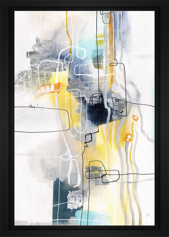 Transport 22L X 28H Floater Framed Art Giclee Wrapped Canvas - J S Bass Gallery - Dropship Direct Wholesale - 1