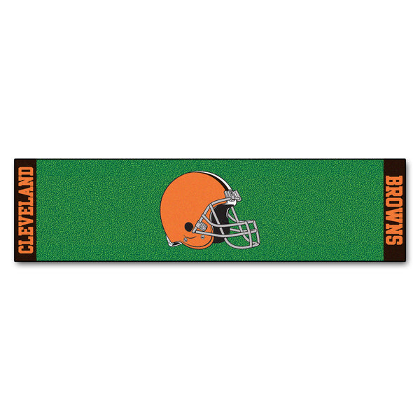 Cleveland Browns PuttingGreen Runner - FANMATS - Dropship Direct Wholesale