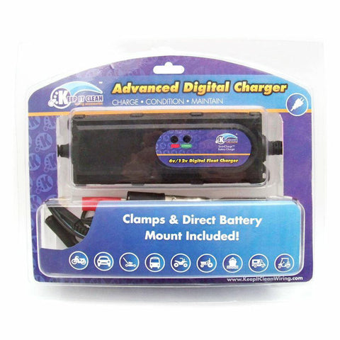 Advanced Digital Battery Charger 6v 12V - Keep It Clean - Dropship Direct Wholesale - 2