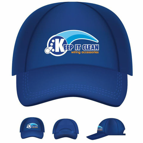 Keep It Clean Wiring Logo Baseball Cap - Keep It Clean - Dropship Direct Wholesale