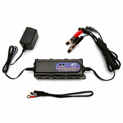 Advanced Digital Battery Charger 6v 12V - Keep It Clean - Dropship Direct Wholesale - 1
