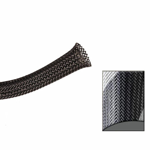 Keep It Clean : 1 1/2in Black and White Strips Ultra Wrap Wire Loom-50 Feet - Unknown - Wholesale Dropship Fulfillment