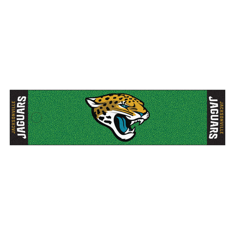 Jacksonville Jaguars PuttingGreen Runner - FANMATS - Dropship Direct Wholesale