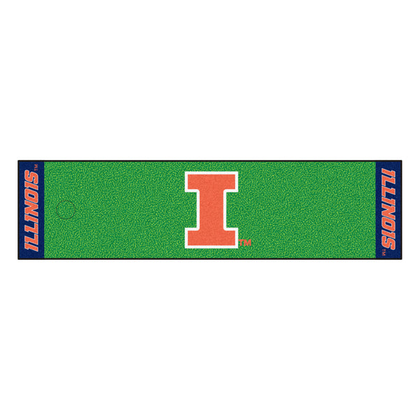 University of Illinois Putting Green Runner - FANMATS - Dropship Direct Wholesale