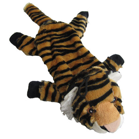 Iconic Pet - Tiger Bottle Fill Wild Animal Dog Toy - 15 Inch - Iconic Pet - Dropship Direct Wholesale