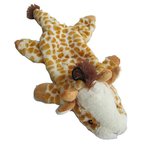 Iconic Pet - Giraffe Bottle Fill Wild Animal Dog Toy - 15 Inch - Iconic Pet - Dropship Direct Wholesale