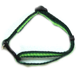 Iconic Pet - Rainbow Adjustable Collar - Green - Large - Iconic Pet - Dropship Direct Wholesale