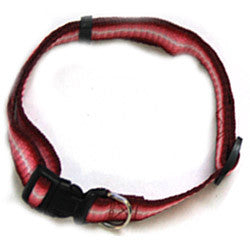 Iconic Pet - Rainbow Adjustable Collar - Red - Medium - Iconic Pet - Dropship Direct Wholesale