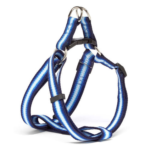Iconic Pet - Rainbow Adjustable Harness - Blue - Medium - Iconic Pet - Dropship Direct Wholesale
