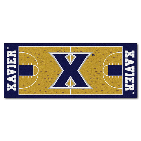 Xavier University Basketball Court Runner 30x72 - FANMATS - Dropship Direct Wholesale