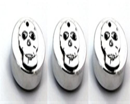 All Sales Head Light Knob (1 Knob)- Skull Polished - AMI - Dropship Direct Wholesale