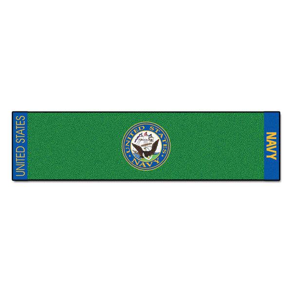 Navy Licensed Putting Green Runner - FANMATS - Dropship Direct Wholesale