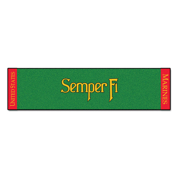 Marines Licensed Putting Green Runner - FANMATS - Dropship Direct Wholesale