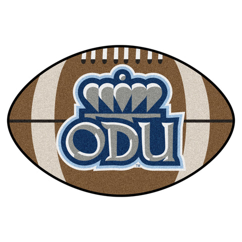 Old Dominion Football Rug 20.5x32.5