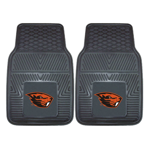 Oregon State 2-pc Vinyl Car Mat Set - FANMATS - Dropship Direct Wholesale