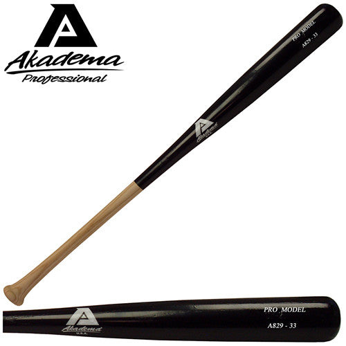Akadema A843-32 Pro Level Quality Adult Amish Wood Baseball Bat 32 IN - Akadema - Dropship Direct Wholesale