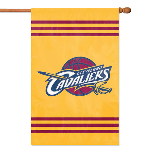 NBA Cleveland Cavaliers Applique Banner Flag - Party Animal - Dropship Direct Wholesale