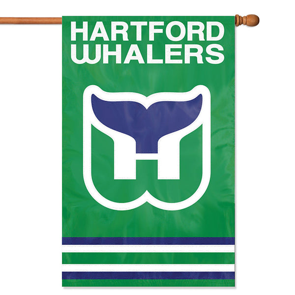 NHL Hartford  Whalers Applique Banner Flag - Party Animal - Dropship Direct Wholesale