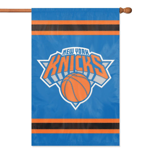 NBA New York Knicks Applique Banner Flag - Party Animal - Dropship Direct Wholesale