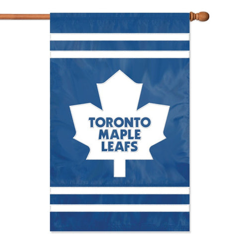 NHL Toronto Maple Leafs Applique Banner Flag - Party Animal - Dropship Direct Wholesale