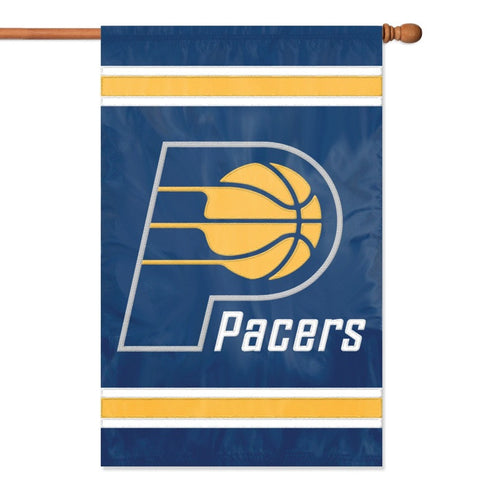 NBA Indiana Pacers Applique Banner Flag - Party Animal - Dropship Direct Wholesale