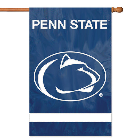 NCAA Penn State Nittany Lions Applique Banner Flag - Party Animal - Dropship Direct Wholesale