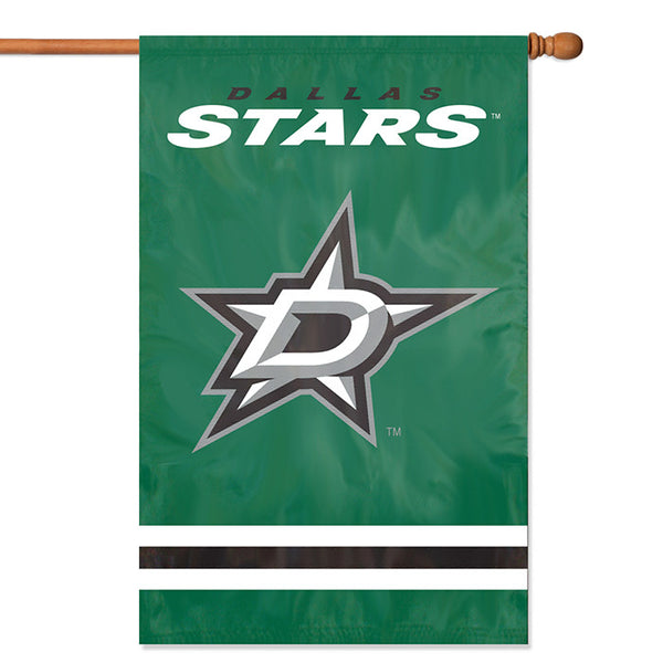 NHL Dallas Stars Applique Banner Flag - Party Animal - Dropship Direct Wholesale