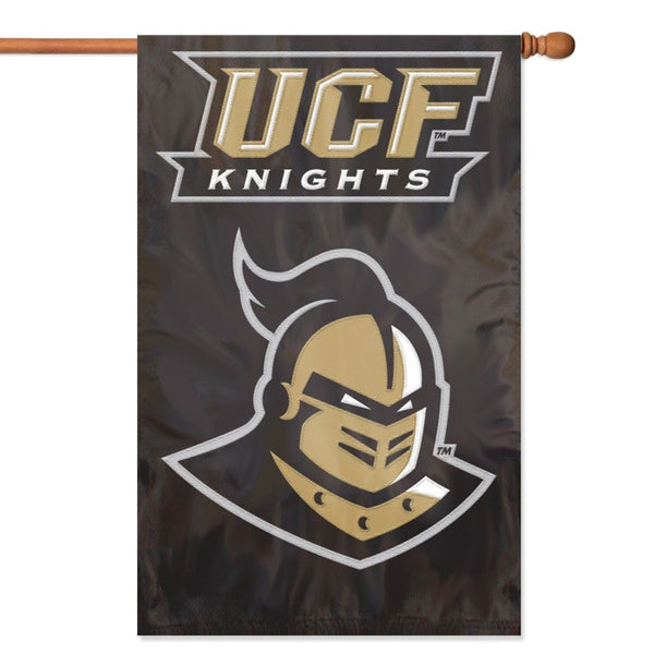 NCAA Central Florida Knights Applique Banner Flag - Party Animal - Dropship Direct Wholesale
