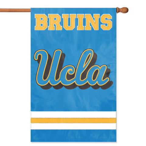 NCAA UCLA Bruins Applique Banner Flag - Party Animal - Dropship Direct Wholesale