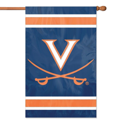 NCAA Virginia Cavaliers Applique Banner Flag - Party Animal - Dropship Direct Wholesale